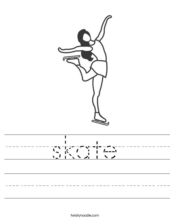 skate Worksheet