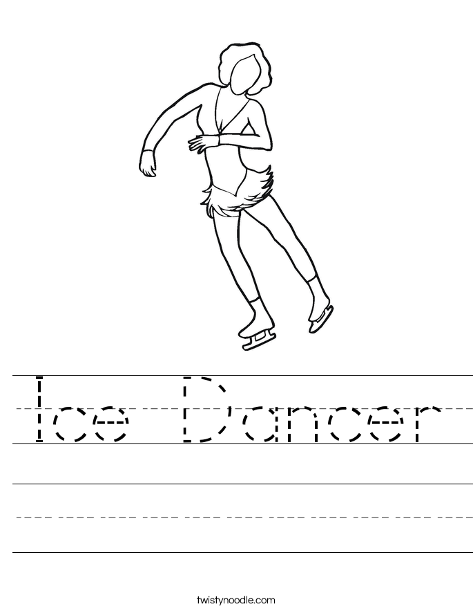 Ice Dancer Worksheet