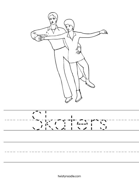 Ice Skaters Worksheet