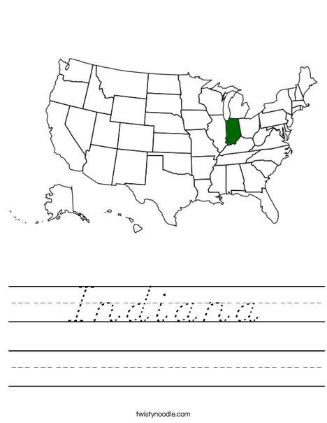 Indiana Worksheet