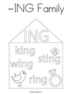 -ING Family Coloring Page