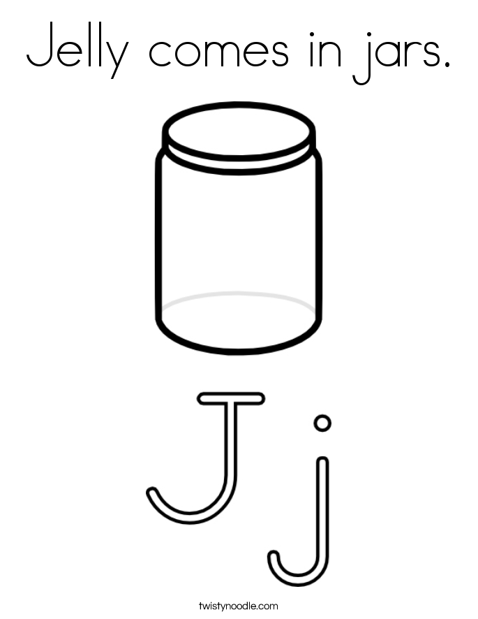Jello Coloring Pages Coloring Page Jelly Comes in