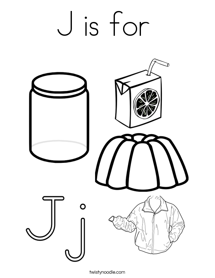 100 ideas J Coloring Pages on wwwgerardduchemanncom