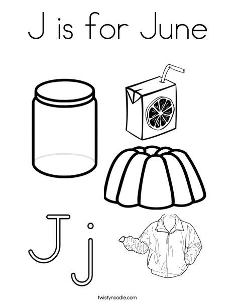 j coloring pages printable - photo #36