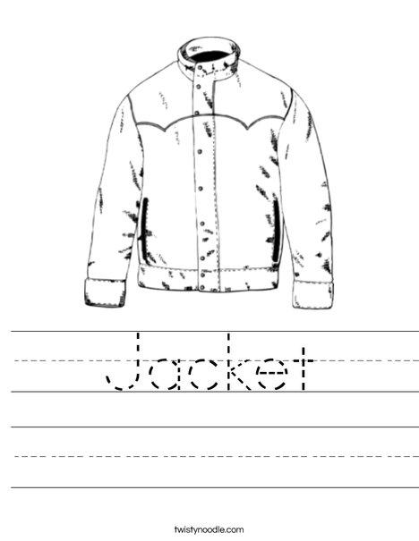 Jacket Worksheet