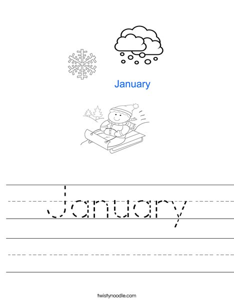 January Worksheet