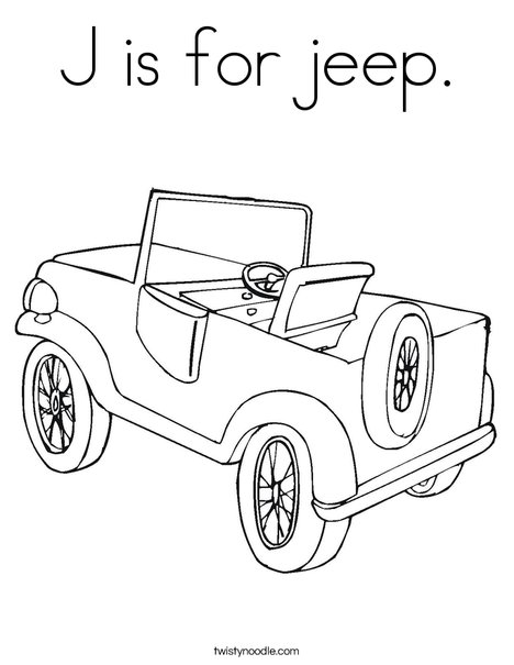 j is for coloring pages - photo #11