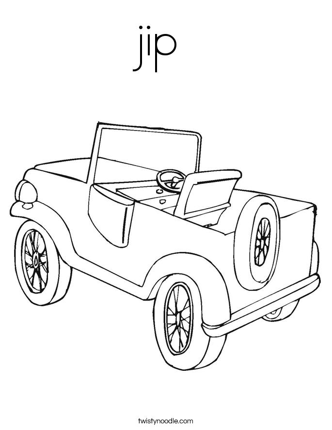 jip Coloring Page