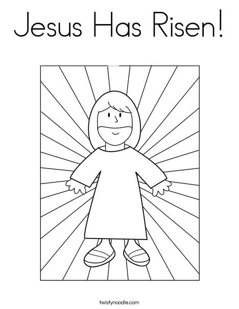 Nice Jesus With Light Coloring Page