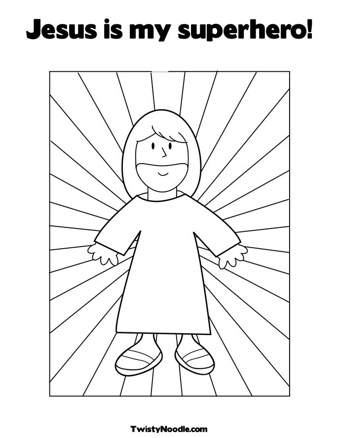 Free coloring pages of super hero