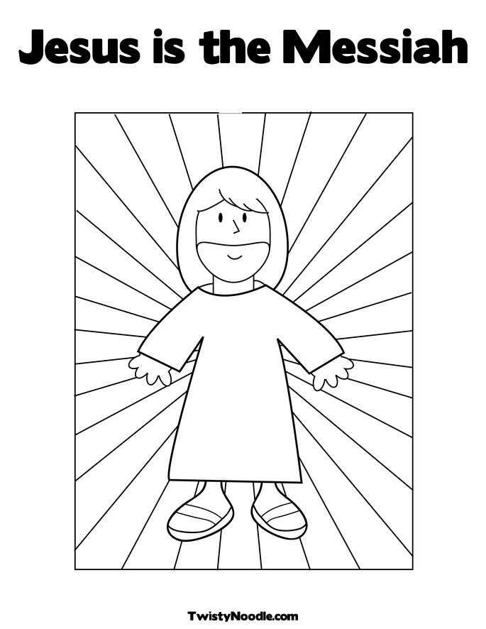 Free Coloring Pages Of Jesus In The Temple As Boy