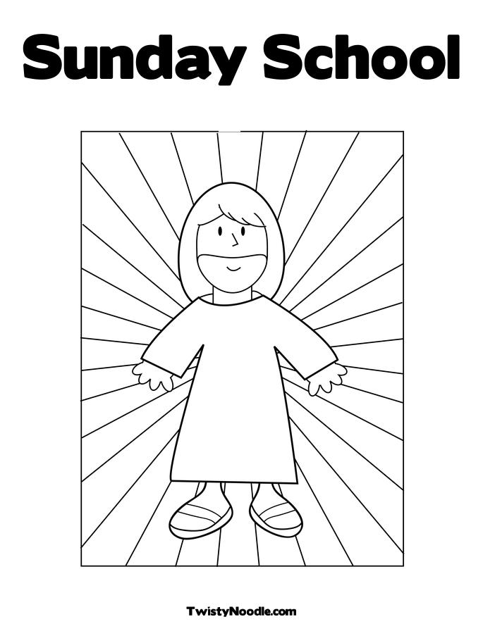 Sunday School Free Colouring Pages Sunday School Coloring Pages Free