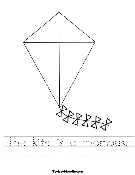 Rhombus Kite Related Keywords & Suggestions - Rhombus Kite Long ...