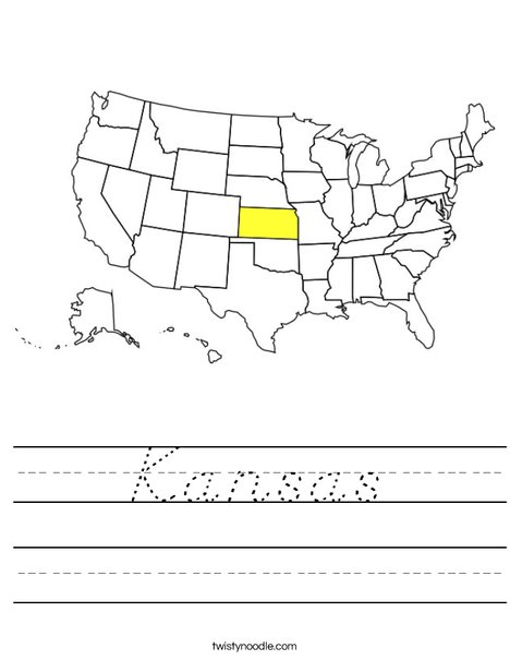 Kansas Worksheet