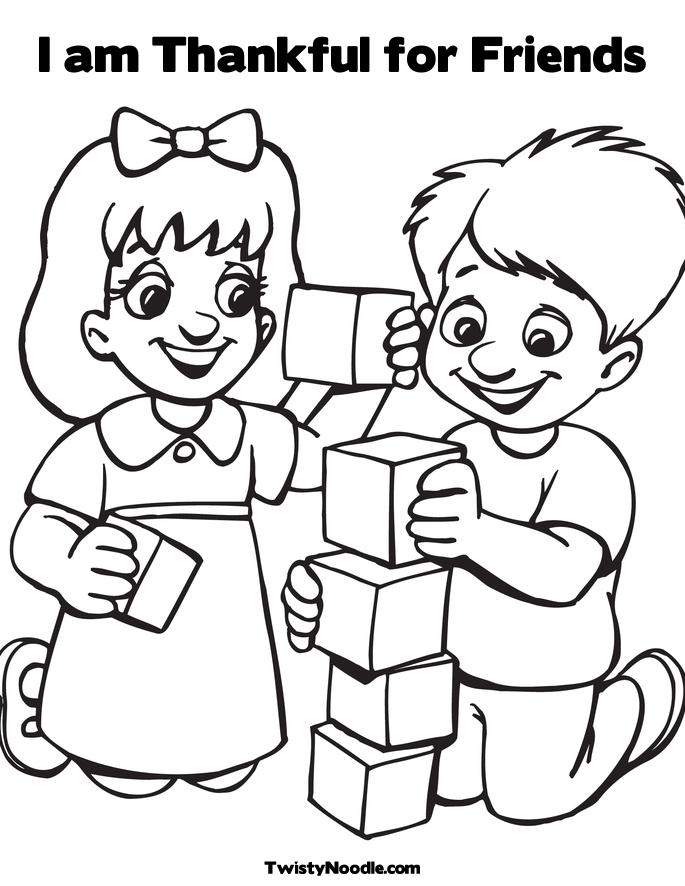 i am thankful for you coloring pages - photo #28