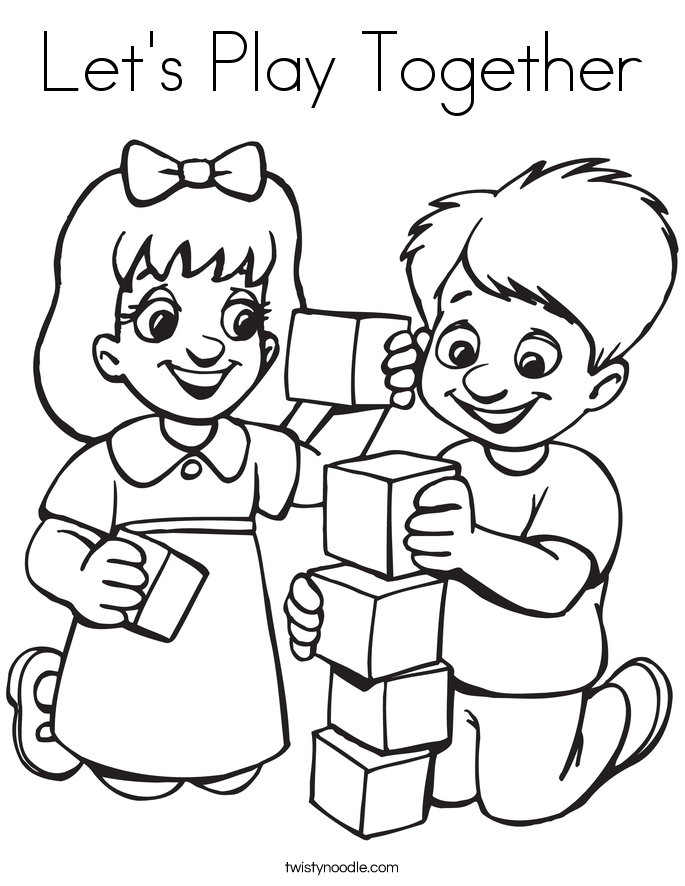 playing safe coloring pages - photo#35