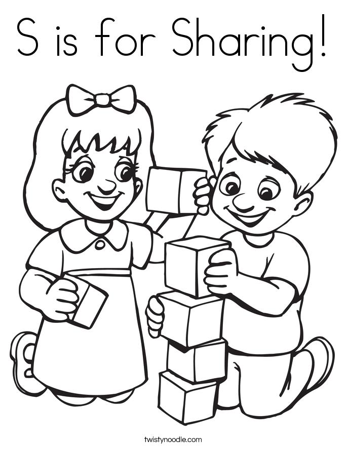 Sharing Coloring Sheets