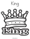 KingColoring Page