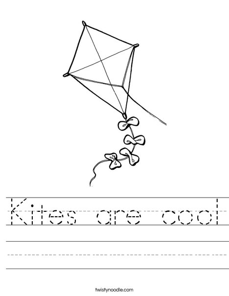 Quadrilateral Kite Worksheet