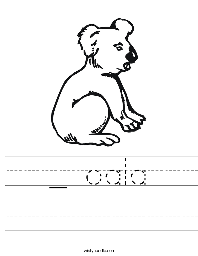 _ oala Worksheet