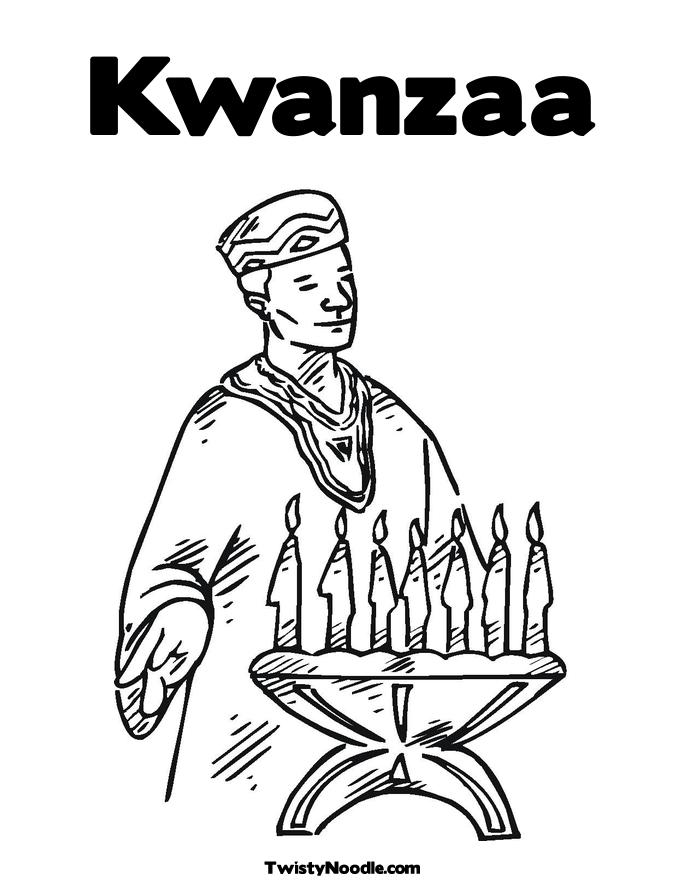 Candle Colouring Page New Calendar Template Site Kwanzaa Coloring Page