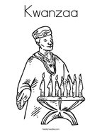 Kwanzaa Coloring Page