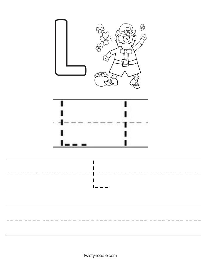 L Worksheet
