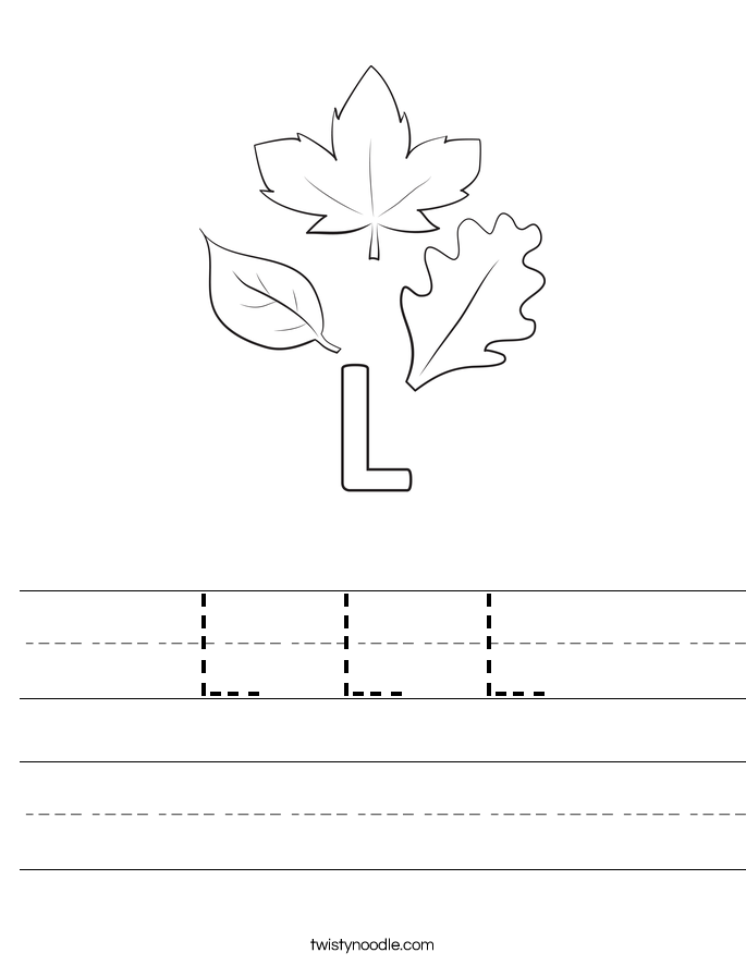 L L L Worksheet