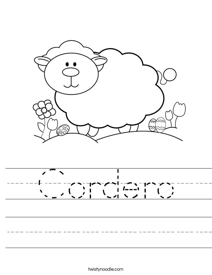 Cordero Worksheet