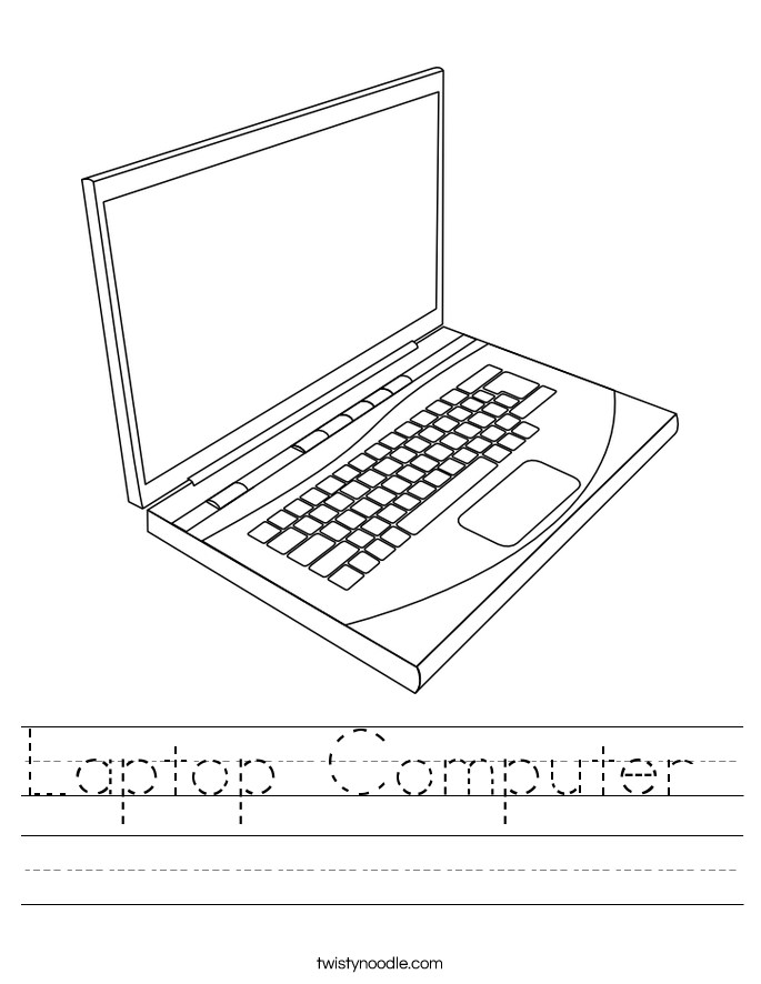 Laptop Computer  Worksheet