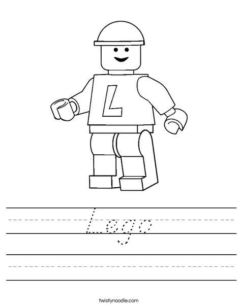 Lego Worksheet