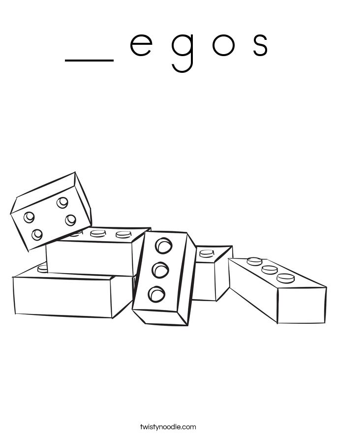 __ e g o s Coloring Page
