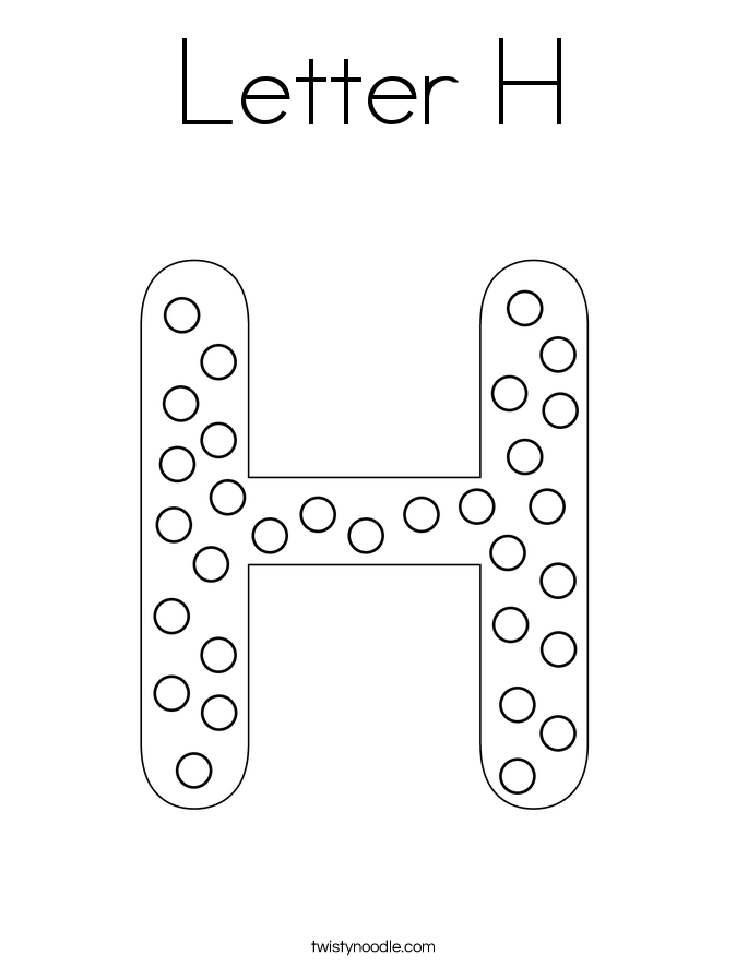 letter h with ornament letter h coloring page h coloring pages