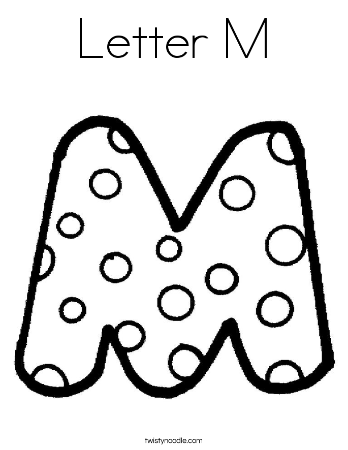 Letter Coloring Pages Coloring Book of Coloring Page