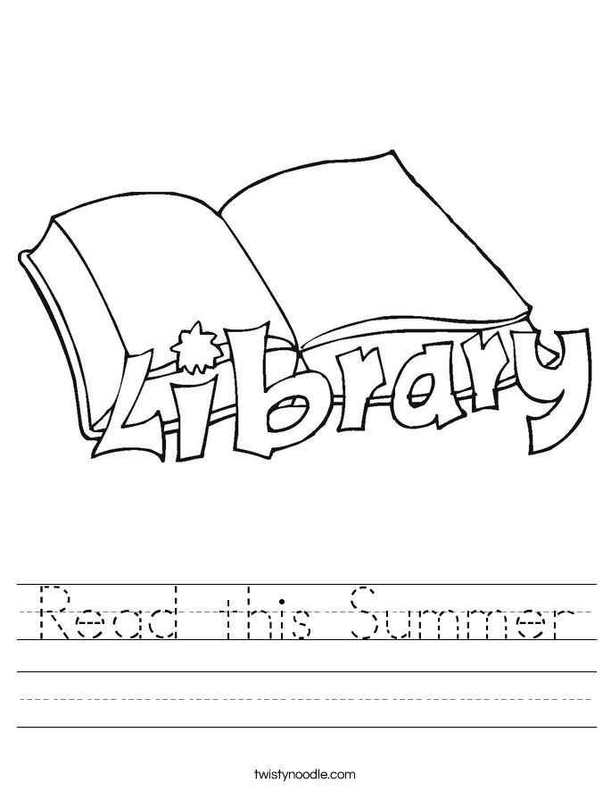 Read this Summer Worksheet