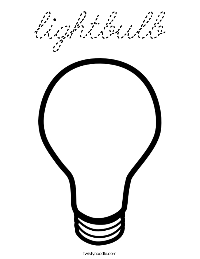 Light Bulb Coloring Sheet Coloring Pages Lightbulb Coloring Pages