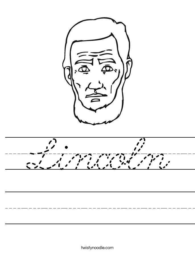 Lincoln Worksheet