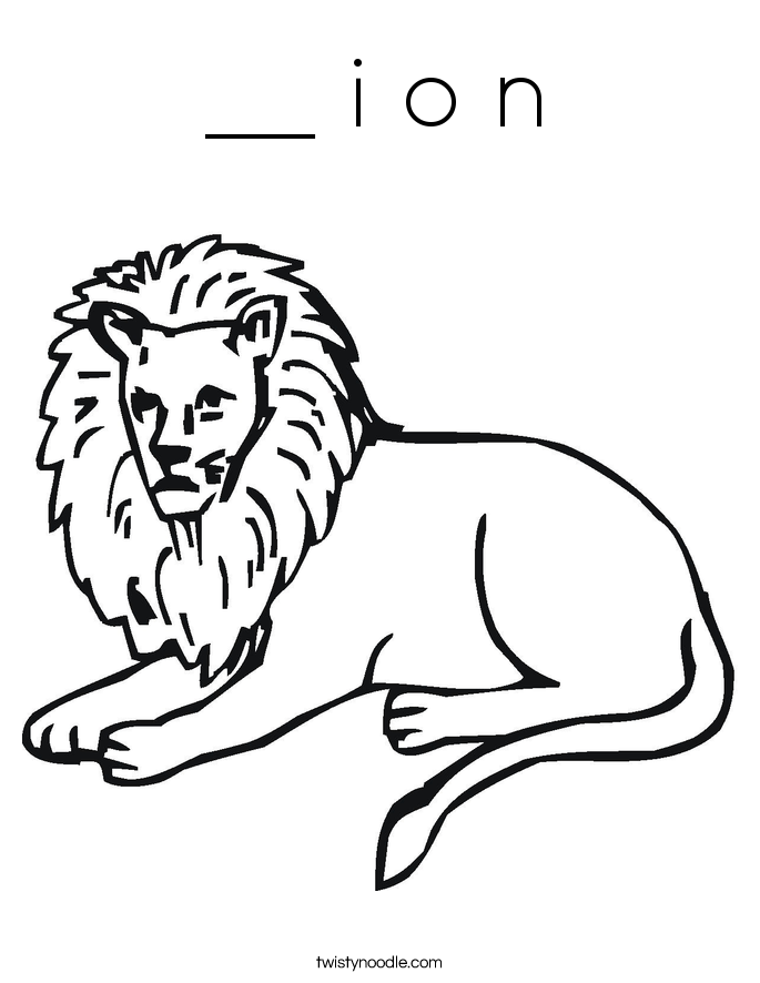 __ i o n Coloring Page