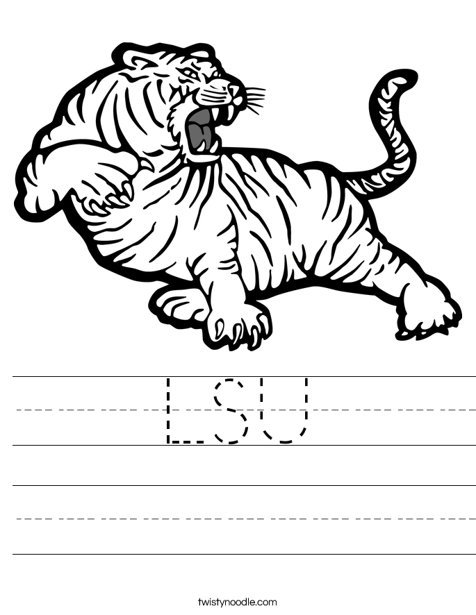 LSU Worksheet