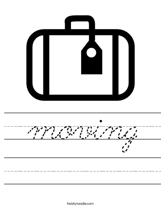 moving Worksheet