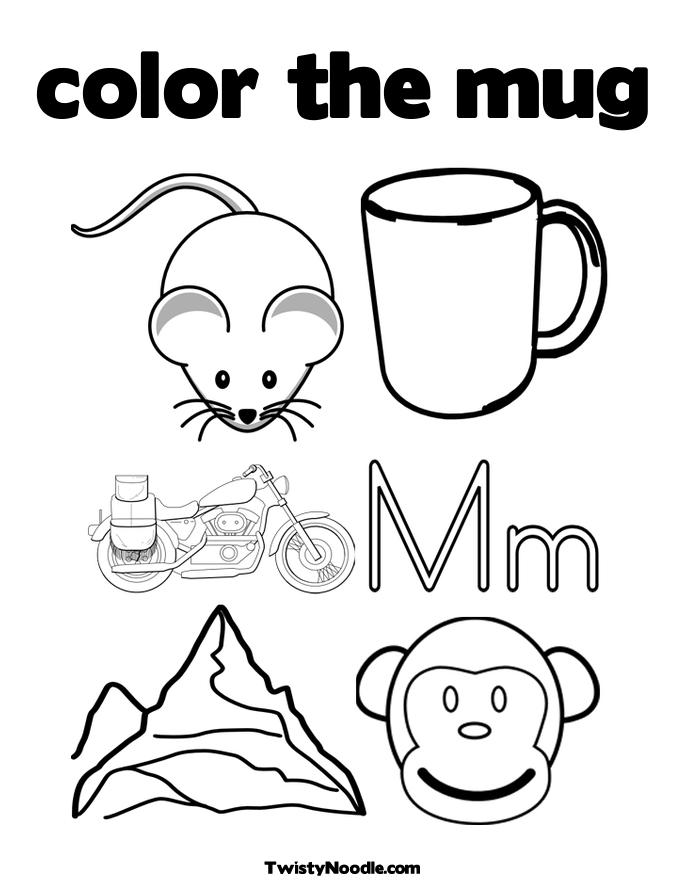 Coloring Pages That Start with M