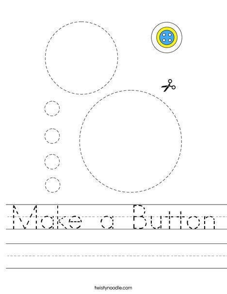 Make a Button Worksheet