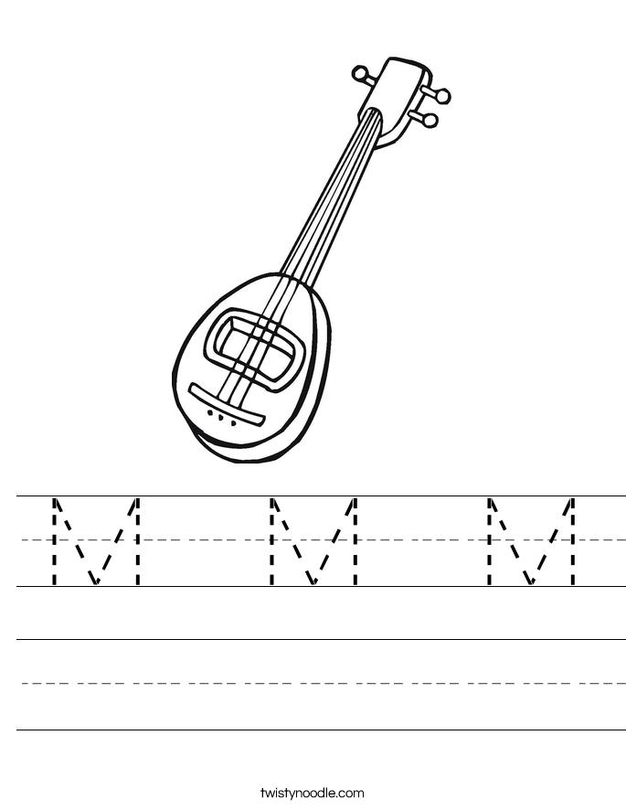 M  M  M Worksheet