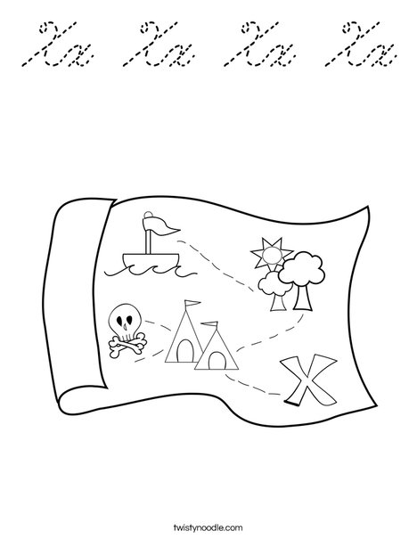 Map Coloring Page