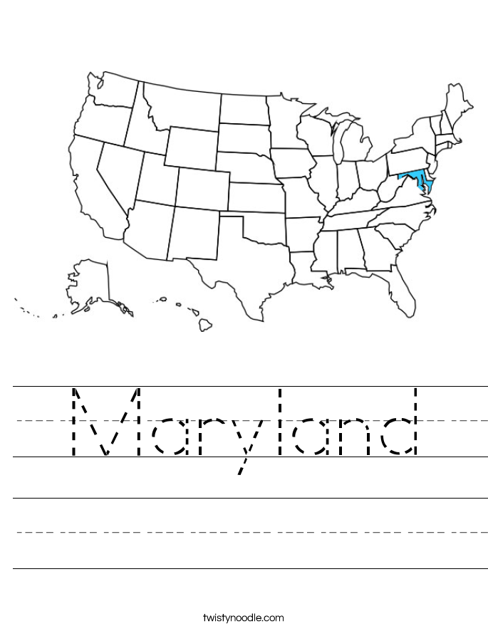 Maryland Worksheet