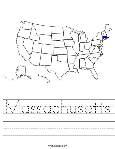 Massachusetts Worksheet