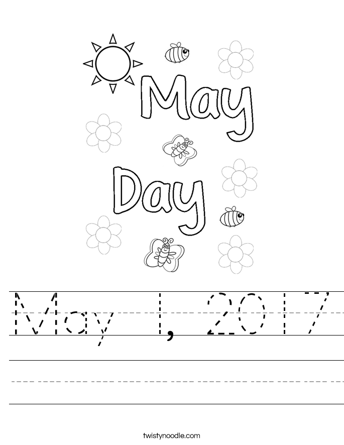 May 1, 2017 Worksheet