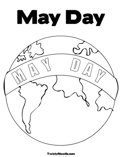 may coloring pages printable - photo#17