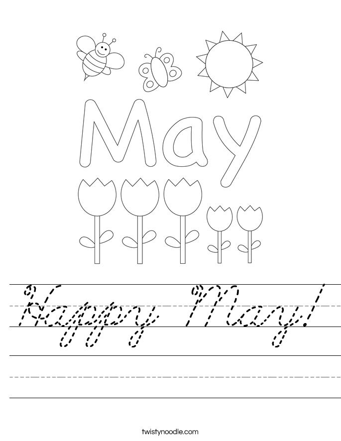 Happy May! Worksheet