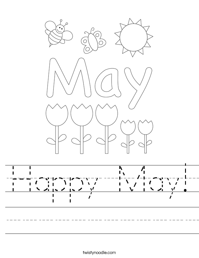 Happy May! Worksheet